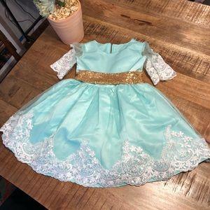 Beautiful toddler princess dress